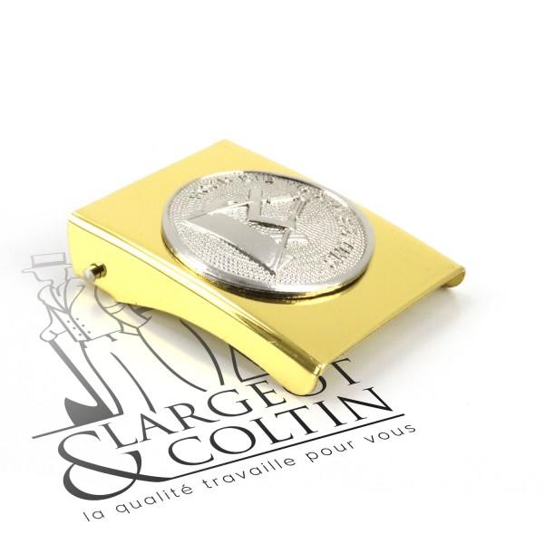 Boucle de ceinture de Compagnon dorée FHB