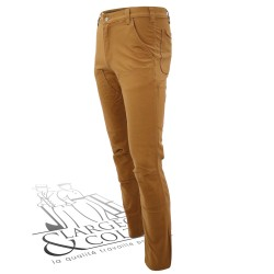 Pantalon de travail slim Carhartt brun