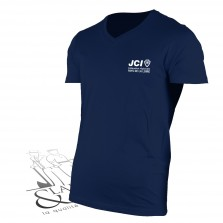 T-shirt col en V JCI
