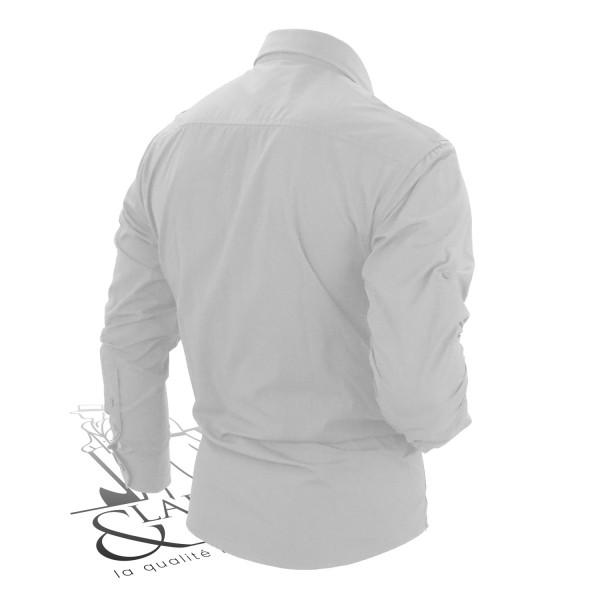 Chemise simple coupe ajustée