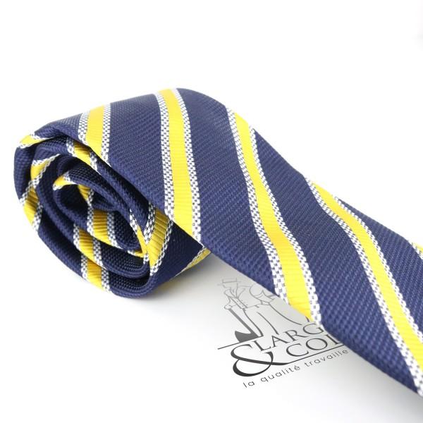 Cravate club à rayures