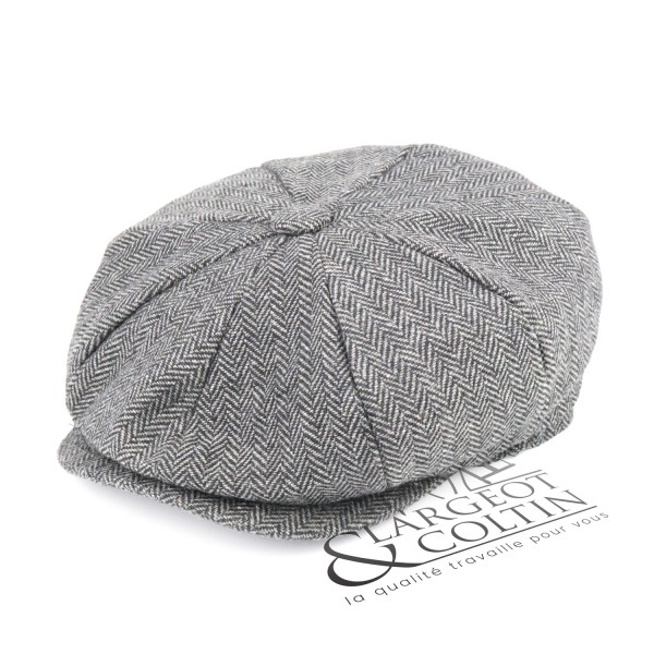 Casquette gavroche tweed