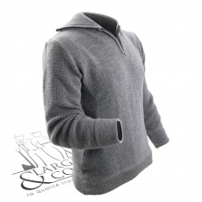 Pull marin troyer laine FHB gris