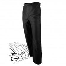 Pantalon droit moleskine Lafont - Benoit - noir