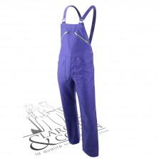 Cotte à bretelles authentique Lafont -Pierre bleu
