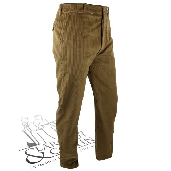 Pantalon velours coupe droite Le Laboureur