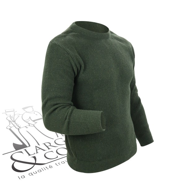 Pull camionneur col rond