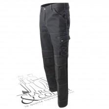 Pantalon de travail en toile Canvas FHB noir