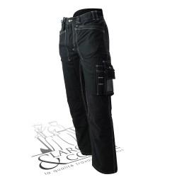 Pantalon hiver doublé blaklader noir