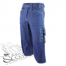 Pantalon pirate 3/4 marine