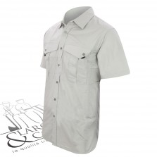 Chemise Rip-stop Snickers manches courtes gris