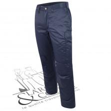 Pantalon hiver doublé marine