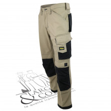 Pantalon de travail Canvas+ beige