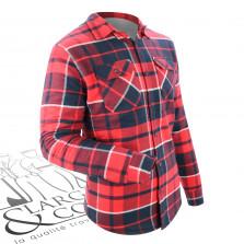 Chemise doublée canadienne rouge