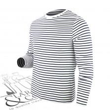 T-shirt marin à rayures