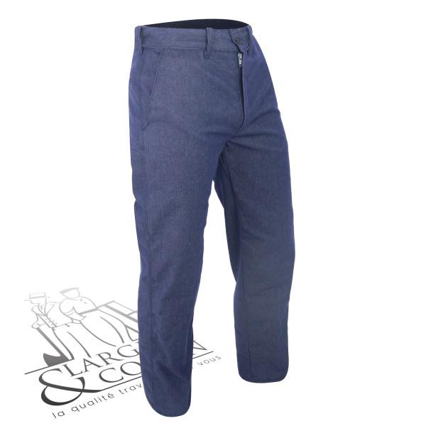Pantalon droit en tergal Le Laboureur