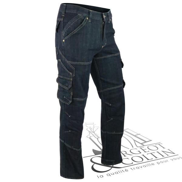 Pantalon renforcé en denim Wilhelm FHB