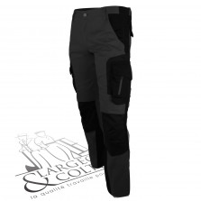 Pantalon de travail slim Alma FHB Anthracite