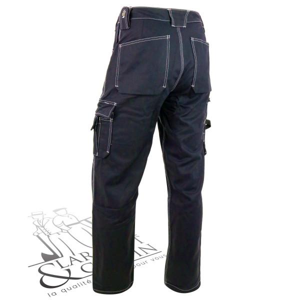 Pantalon hiver coton poches holster Blaklader