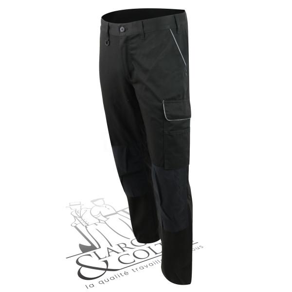 Pantalon avec poches pour genouillères Blaklader