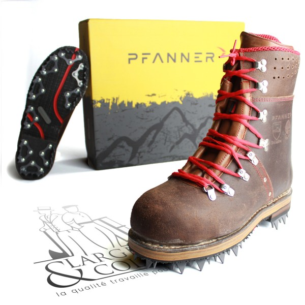 Chaussures forestières Tirol Juchten