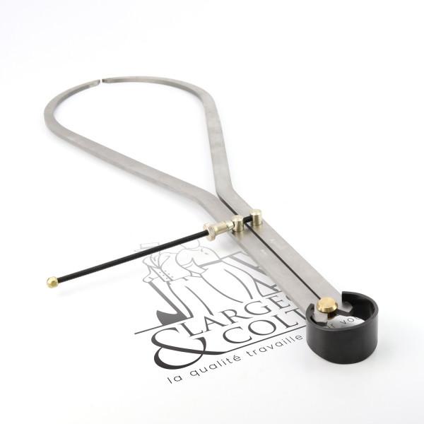 Compas d'épaisseur à ressort en acier pro