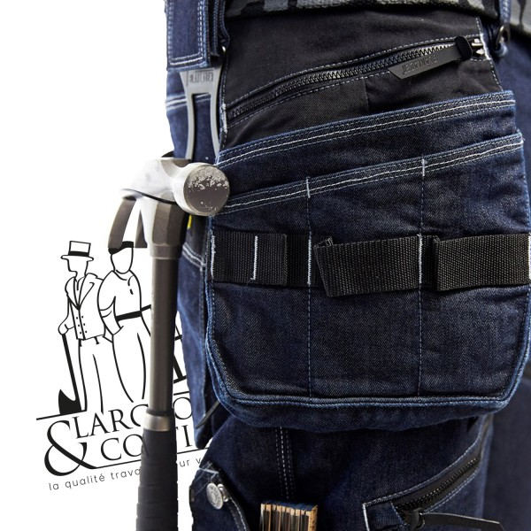 Pantalon Denim Stretch Blåkläder
