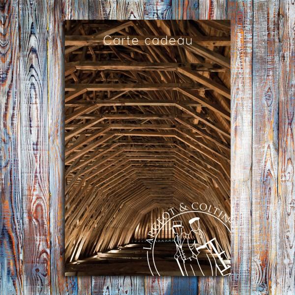 Carte cadeau carpentry collection