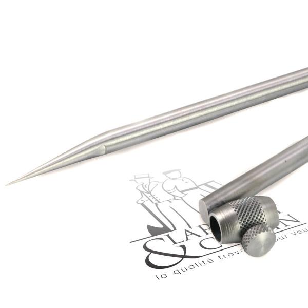 Compas acier porte crayon 1/4 de cercle