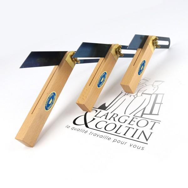 Fausse équerre hêtre (sauterelle) Crown Hand Tools