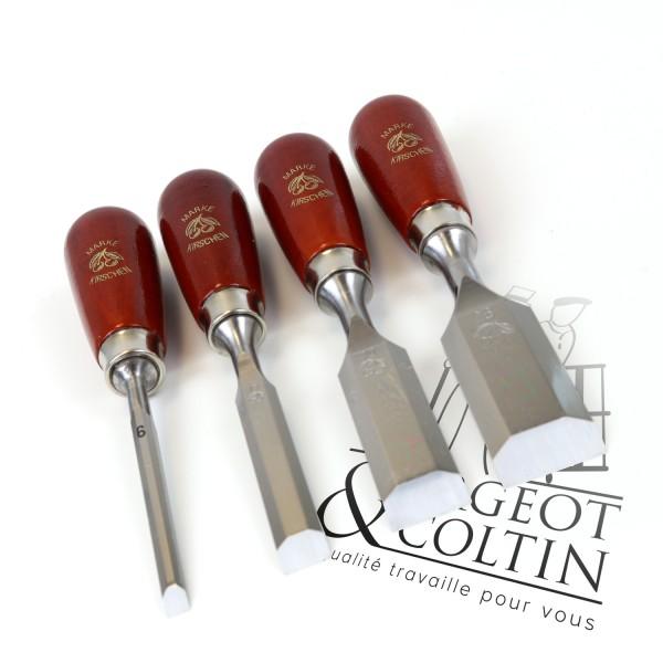 Set de 4 ciseaux de paume Kirschen