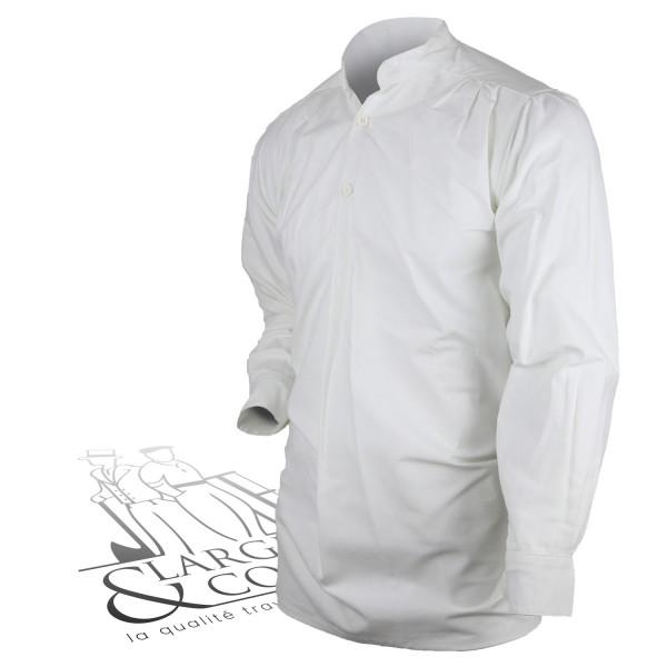 Chemise plissée artiste Le Laboureur
