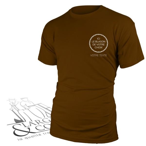 T-shirt de corporation cœur manches courtes