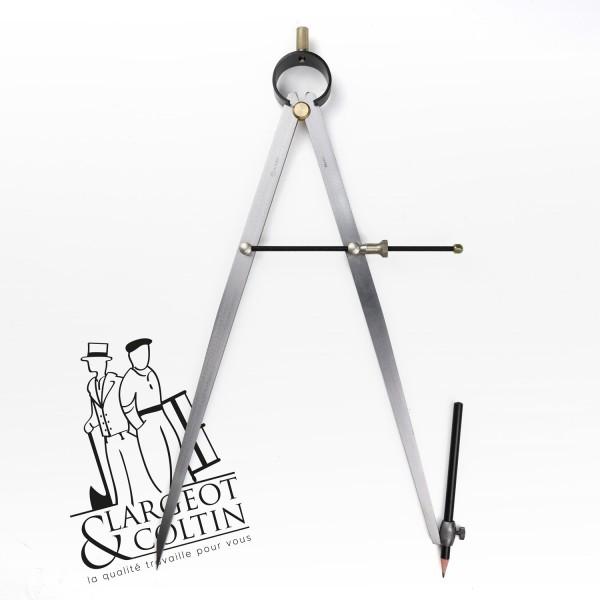 Compas avec porte-crayon