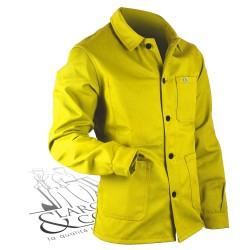 Veston coltin flashy Le Laboureur citron