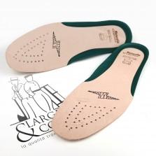 Semelles en cuir naturel pour chaussures de sécurité