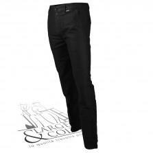 Pantalon droit moleskine Le Laboureur noir
