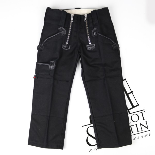 Pantalon de charpentier enfant moleskine FHB