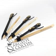 Compas porte-crayon double charnière - La Cible