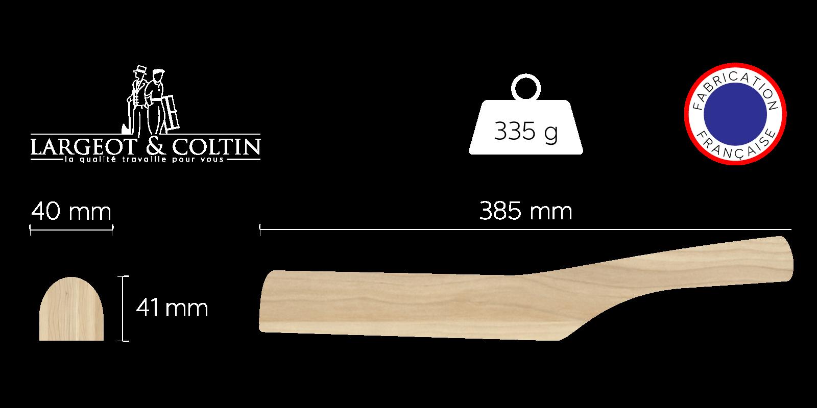 batte de plombier plate