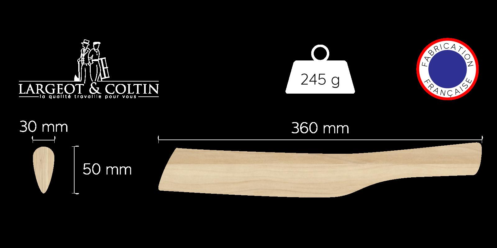 batte de plombier ovale