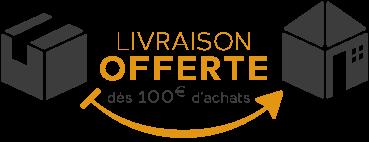 Frais de port offert pour toute commande de plus de 100€