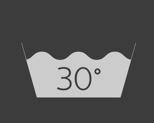 Lavage à 30°C en mode normal