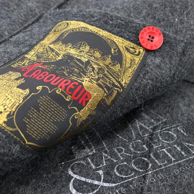 Veste en laine le Laboureur fabriquée en France